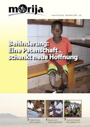 N.232 - Datum 11/2007 pdf 909 Ko - Morija