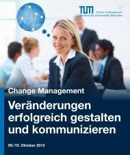 Change Management - Executive Education Center - Technische ...