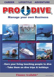 Finance Available* Manage your own Business - Online Scuba ...