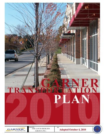 Transportation Plan - Town of Garner