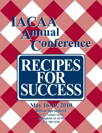 May 16-19, 2010 May 16-19, 2010 - Illinois Association of ...