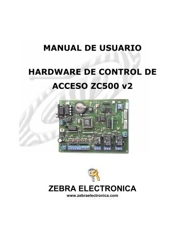 MANUAL_CONTROLADOR_ ZC500_v2 old.pdf - Zebra Electronica