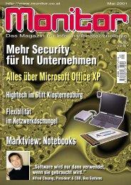 Die komplette MONITOR-Ausgabe 5/2001 können Sie