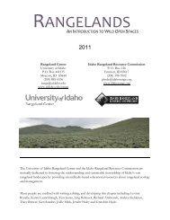 Rangelands - North American Envirothon