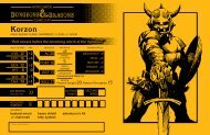 Download Korzon, Human Cleric - Wizards of the Coast