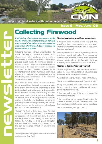 r Collecting Firewood - Far South Coast Conservation Management ...