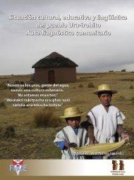Situación cultural, educativa y lingüística del ... - Biblioteca virtual