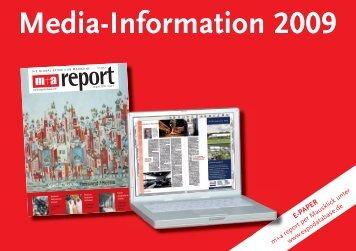 Media-Information 2009 - m+a Verlag GmbH