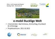 Bucklige Welt - Netzwerk Land