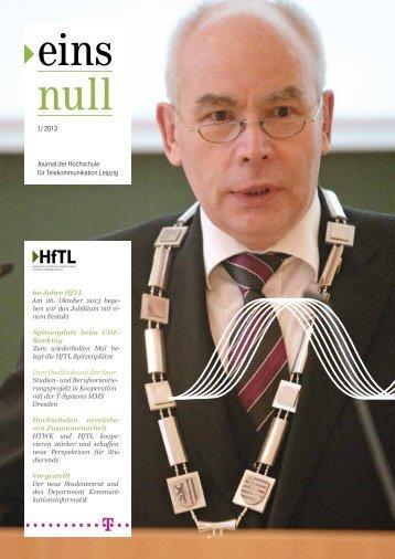 Journal der Hochschule für Telekommunikation Leipzig 01 / 2012 ...
