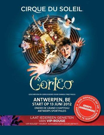 ANTWERPEN, BE - Cirque du Soleil
