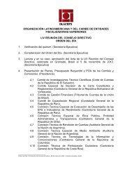 2 Citación, Agenda y Orden del día LIV Consejo Directivo - olacefs