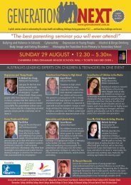 """SUNDAY 29 AUGUST • 12.30 – 5.30PM """"The best parenting ..."""