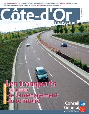 Avril 2010 en PDF - Conseil général de Côte-d'Or