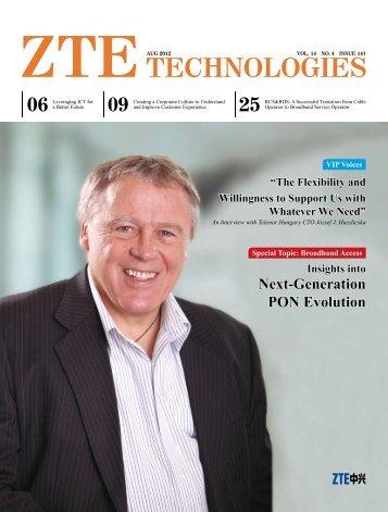Insights into Next-Generation PON Evolution - ZTE