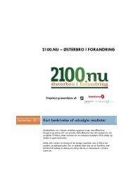 2100.NU – ØSTERBRO I FORANDRING - Isover