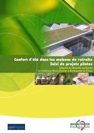 Confort d'été dans les maisons de retraite Suivi de ... - Coolregion.fr