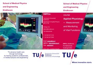 course Applied Physiology Measurement and Monitoring of Vital ...