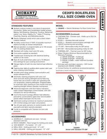 Mini Combi Oven Electrolux