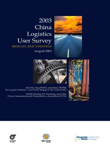 2003 China Logistics User Survey Report - The Supply Chain and ...