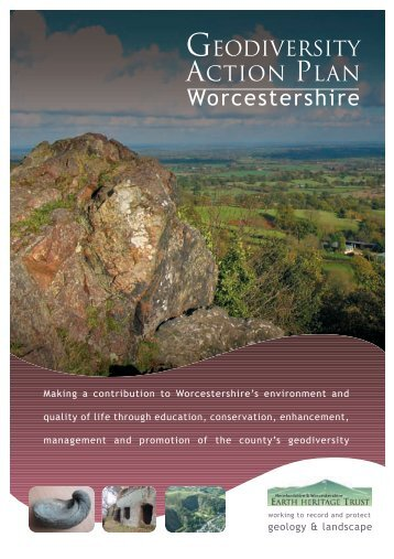 Worcestershire - Herefordshire & Worcestershire Earth Heritage Trust