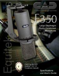 E-350 - MIDI Manuals