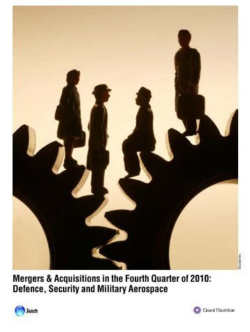 Mergers & Acquisitions in the Fourth Quarter of 2010 - Grant Thornton