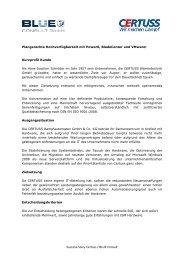 Referenzstory zum Download (pdf) - BLUE CONSULT GmbH
