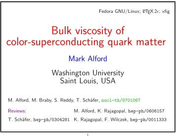 Bulk viscosity of color-superconducting quark matter - Infn