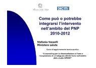 PNP 2010-2012 - Centro per lo Studio e la Prevenzione Oncologica ...