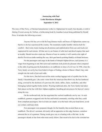 2012-09-09 Journeying with Paul (Leslie Hawthorne Klingler).pdf