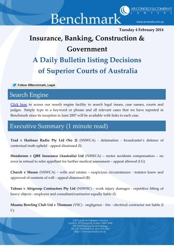 benchmark_04-02-2014_insurance_banking_construction_government