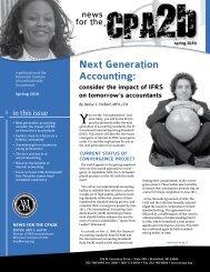 Next generation Accounting: - WICPA