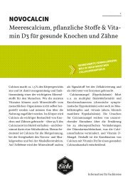 Produktinformation (PDF) - Pharmavertrieb - zur Eiche