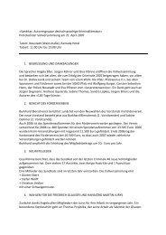 Protokoll der Vollversammlung am 21. April 2007 ... - Das Syndikat