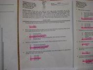 class 2009 midterm #1 key