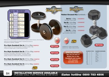INSTALLATION SERVICE AVAILABLE - Fitness Superstore