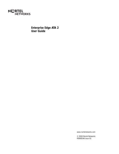 BCM 2.0 ATA 2 User Guide - TextFiles.com