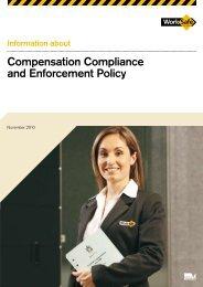 Compensation Compliance and Enforcement ... - WorkSafe Victoria