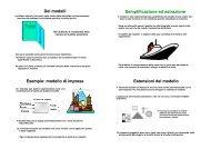 Regressione lineare semplice - Dipartimento di Economia e Statistica