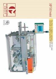 miniAutomatic wrapping machine MF 910 mini - Marchesini Group