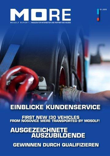 MORE Broschüre 01/2012 Deutsch (PDF, ca. 6 - Mosolf