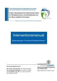 Interventionsmanual - Chronische Krankheiten und ...