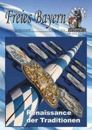 Ausgabe 1/2013 - Freies Bayern - Bayernpartei