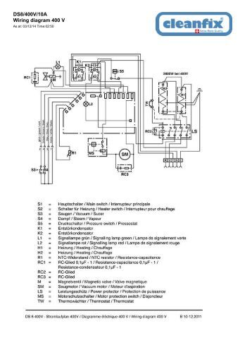 thermozone ac 400 wac 400 wiring diagrams ac401 and ds8 400v 10a wiring diagram 400 v