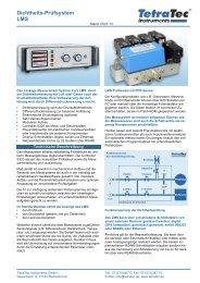Datenblatt LMS - TetraTec Instruments GmbH