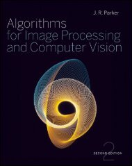 Algorithms for Image Processing and Computer Vision Second Edition
