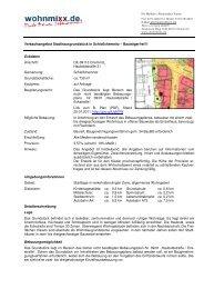 Verkaufsangebot Stadthausgrundstück in ... - Immowelt.de