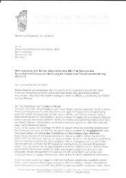 finden Sie die Stellungnahme des BEJV zu den Änderungen in der ...