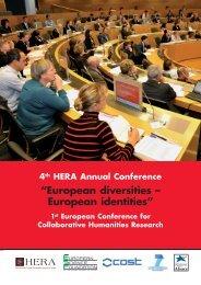 """European diversities – European identities"" - European Science ..."